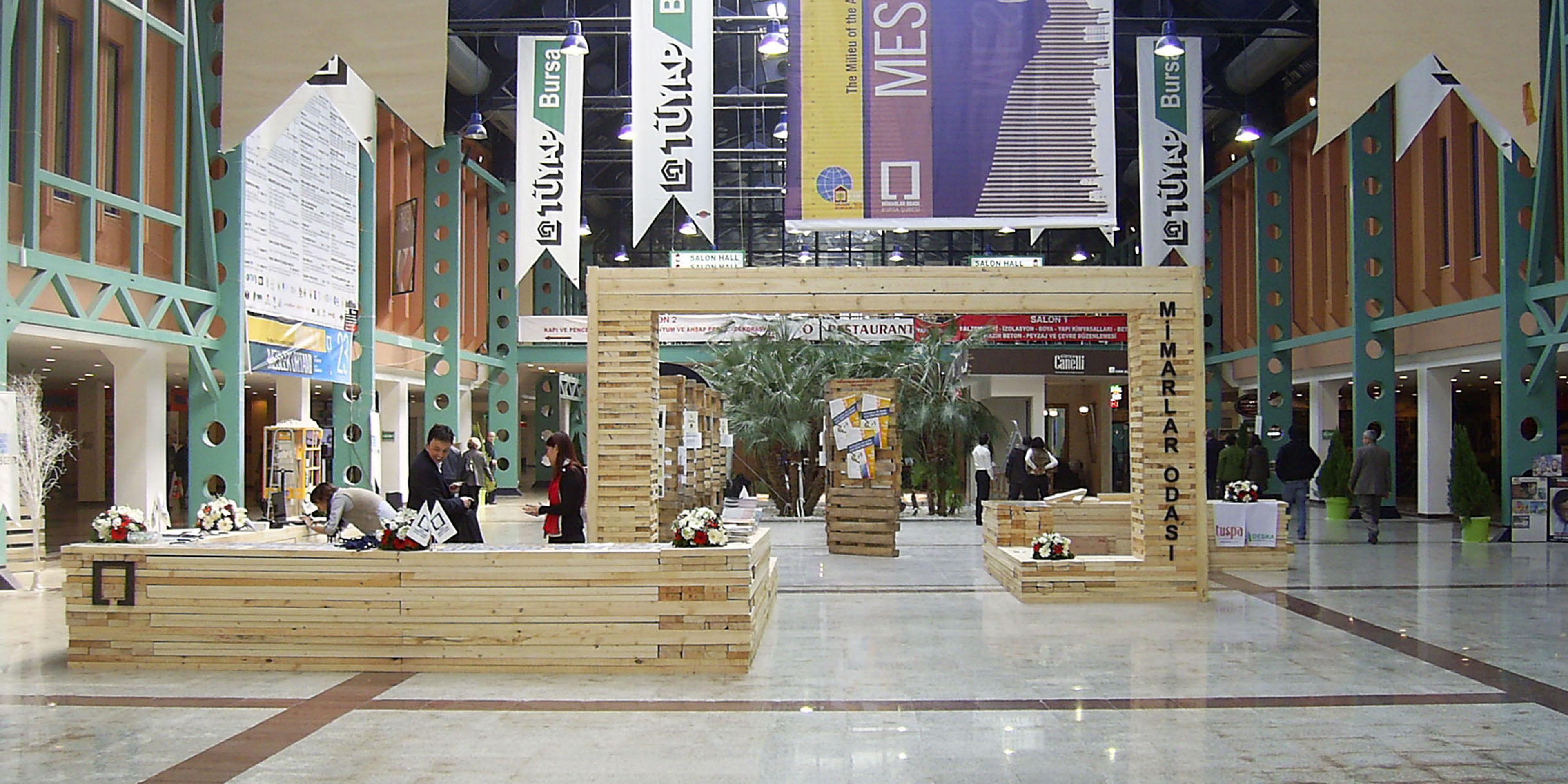 Bursa Mimarlar Odası Stand Tasarımı