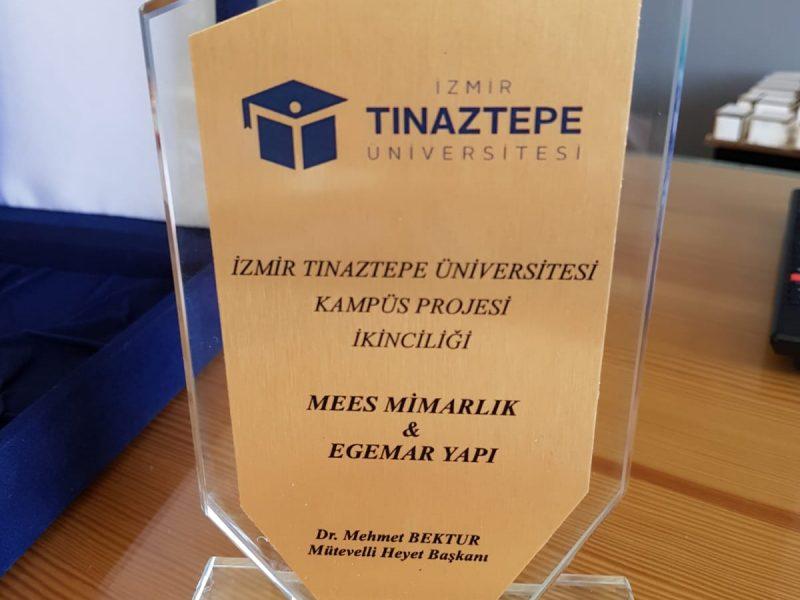 Tınaztepe Üniversite Kampüsü Ödül Töreni Gerçekleşti