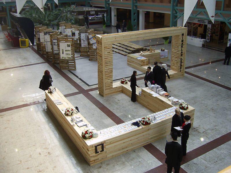 Mimarlar Od. Bursa Şb. Sürdürülebilir Stand Yarışması, Ödüllü Projemiz Uygulandı
