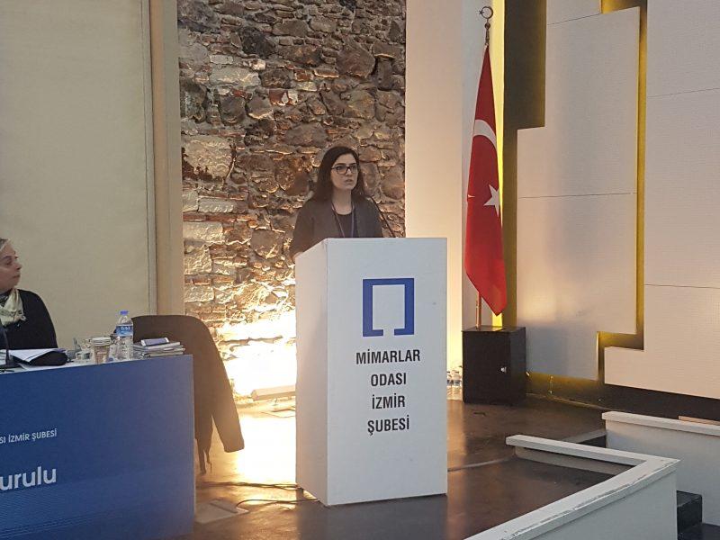 Y.Mimar Esra YILMAZ KESKİN, Mimarlar Odası İzmir Şubesi Yönetim Kurulu Üyeliğine Seçildi