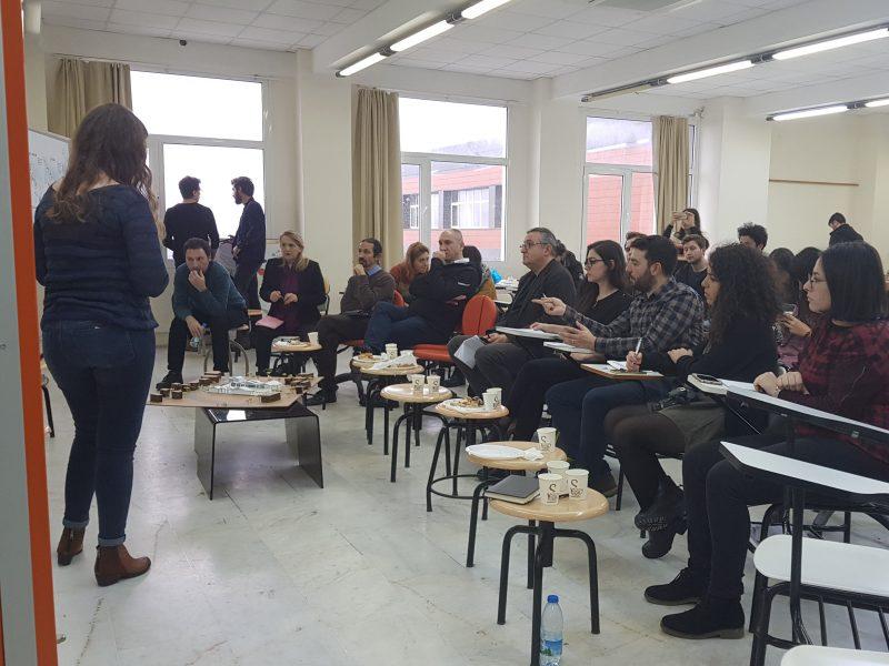 İYTE ARCH 201 Mimari Tasarım Stüdyosu Final Jürisi Gerçekleşti