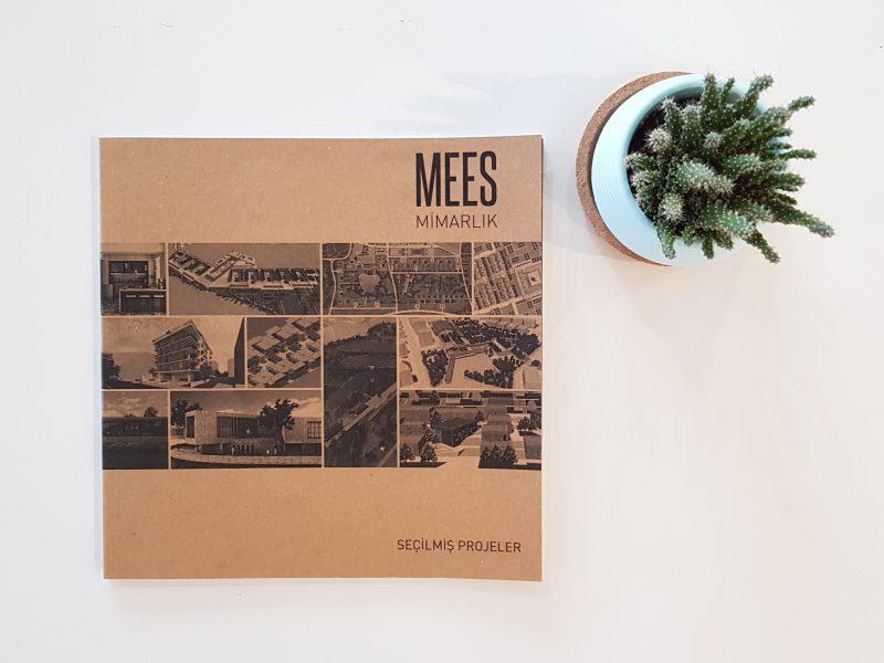 MEES Mimarlık Seçilmiş Projeler 01 Kitabımız Basıldı