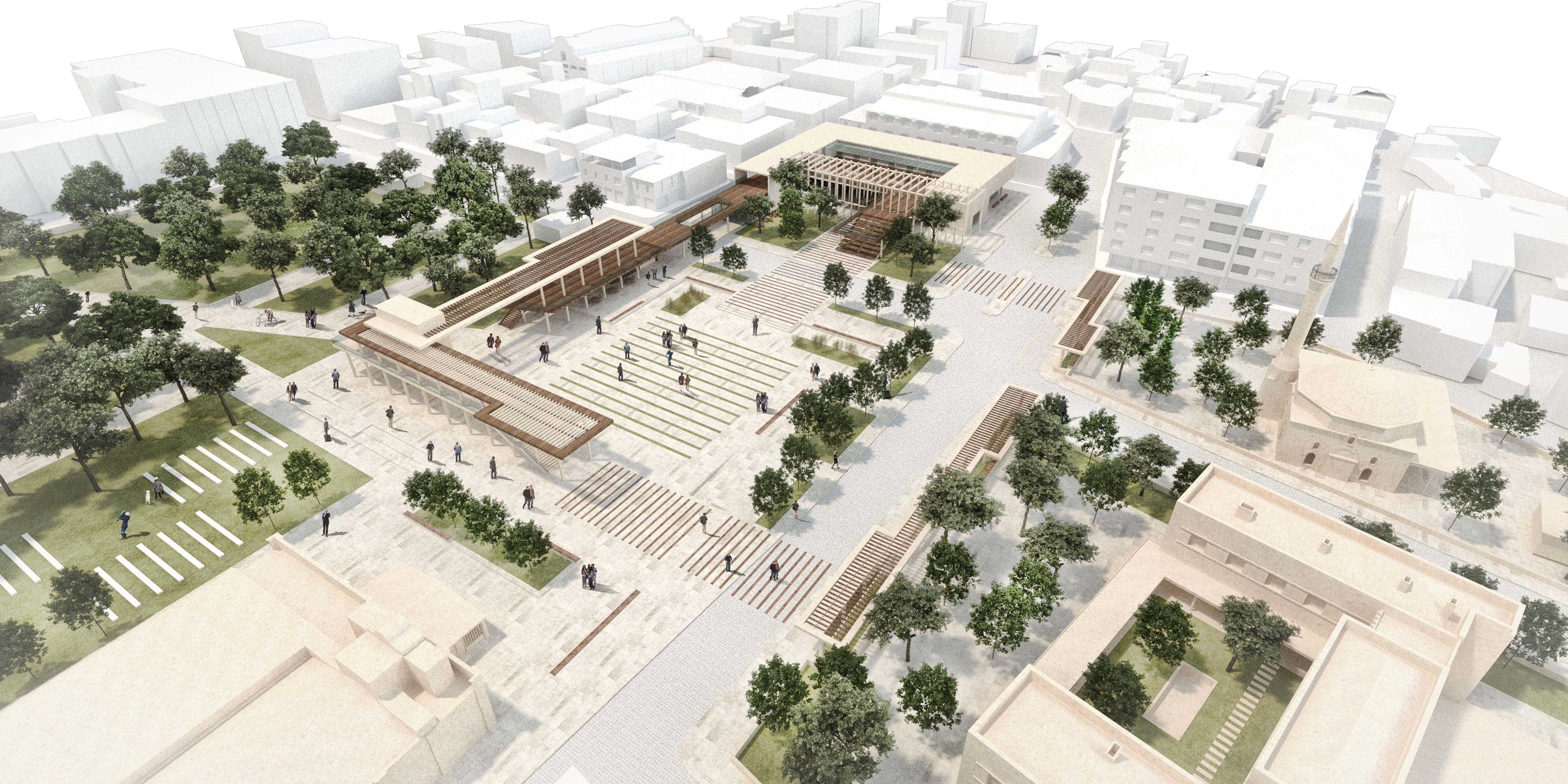 Akhisar Eski Belediye Meydanı ve Yakın Çevresi